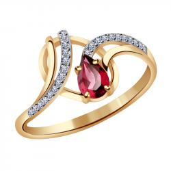 Кольца с рубином купить по низкой цене в ювелирном интернет магазине ... 7229debafd104