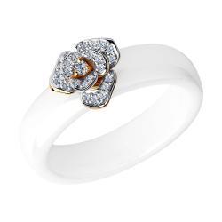 Золотые кольца купить по низкой цене в ювелирном интернет магазине ... 45d831b9323fd