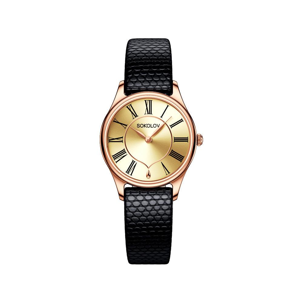 Женские часы SOKOLOV 216.01.00.000.02.02.3 Мужские часы Romanson TM8697MC(BK)