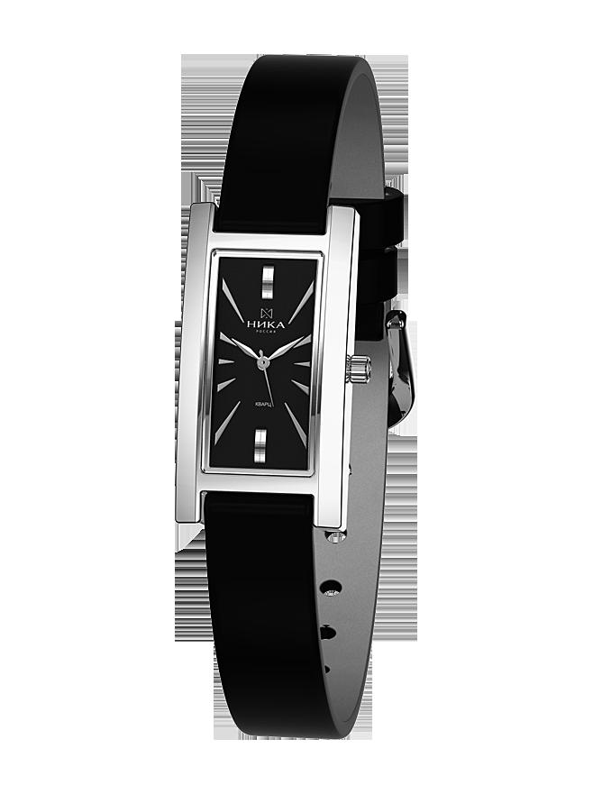 9ebfdc3e5432 Серебряные часы с сапфировым стеклом Часовой завод Ника 0437.0.9.55Н ...