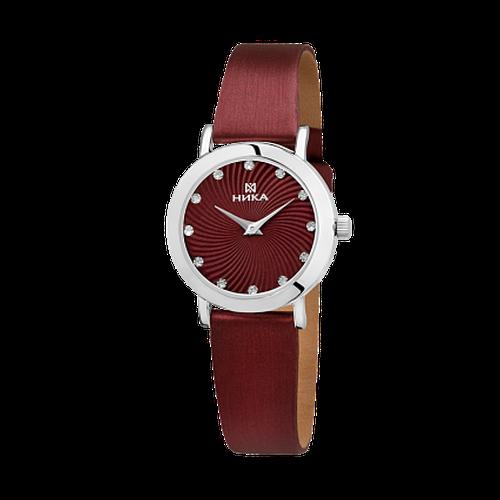 Серебряные часы Часовой завод Ника с минеральным стеклом 0102.0.9.92А