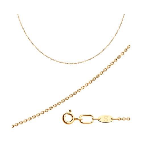 Золотая цепь плетение Якорное SOKOLOV 581030304