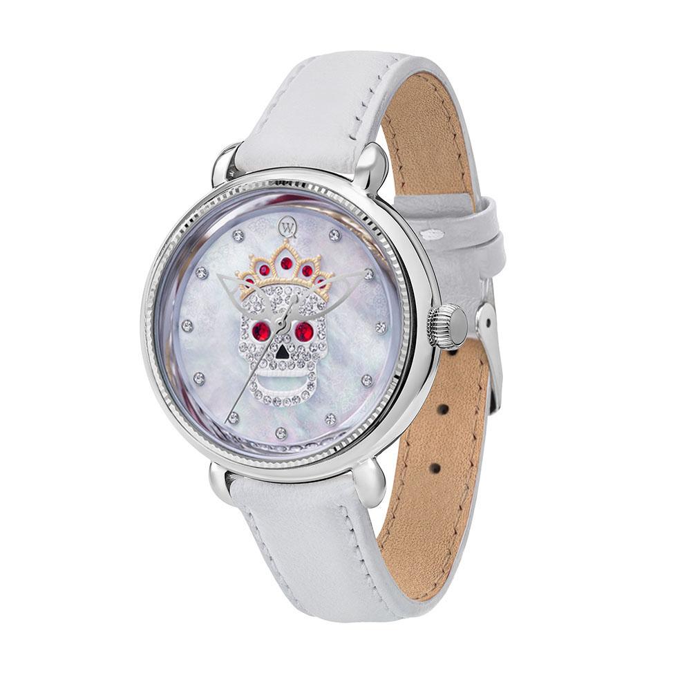 Серебряные часы Часовой завод Ника с минеральным стеклом 6173.00.00.9.16C