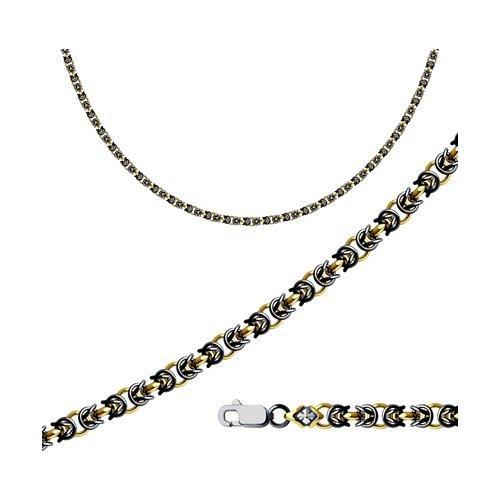 Серебряная цепь плетение Королевское SOKOLOV 998360800